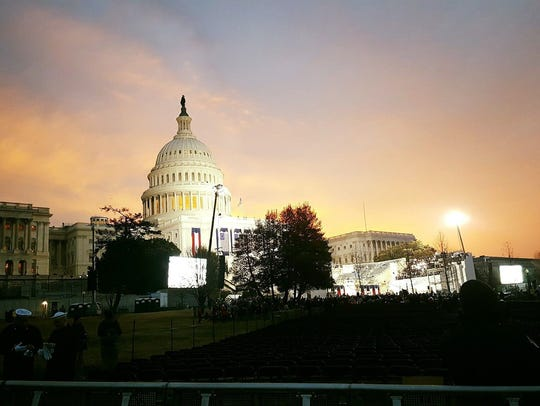 U.S. Capitol building in Washington, D.C.