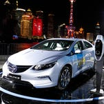 GM is confident it can meet China's lofty electric vehicle target, despite lag in 2017