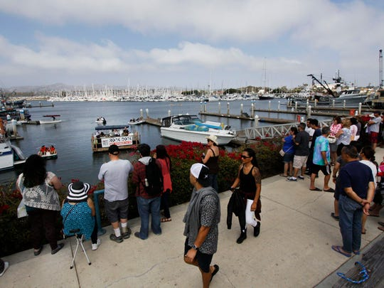 Rock the Dock takes place Saturdays in September at Ventura Harbor Village. Bands perform live music from a floating dock.