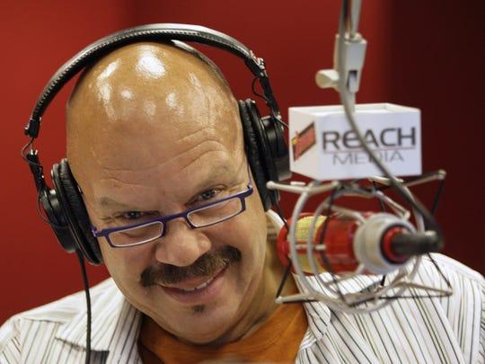 Syndicated radio personality Tom Joyner is heard weekday mornings on WTLC-FM (106.7).