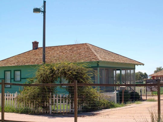 745 E Germann Rd | This historic structure, the McCroskey
