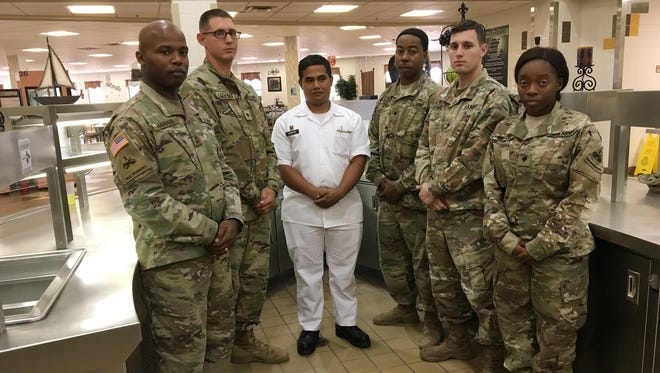 The field kitchen team from 1st Brigade has been named the best in the 1st Armored Division and in III Corps.