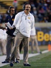 California coach Sonny Dykes says he and his staff