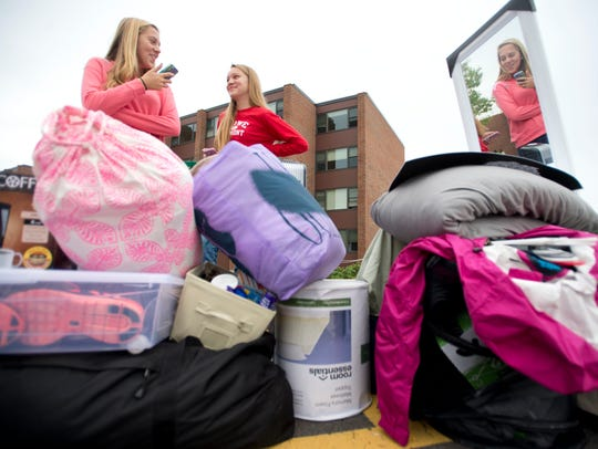 Move-in day arrives on Friday, Aug. 24 at UVM, as the class of 2022 joins the student body.