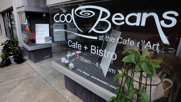 Cool Beans opened in downtown Montgomery in 2003.