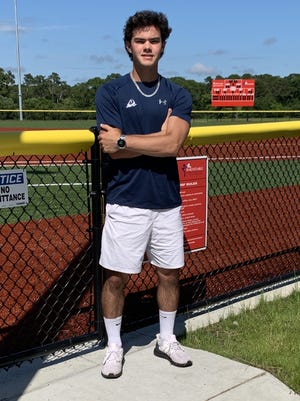 Center fielder and shortstop Matt Klett, who graduated from Barnstable High School this year and now plays for Team Cape Cod, will take his baseball skills to UMass Dartmouth this fall.