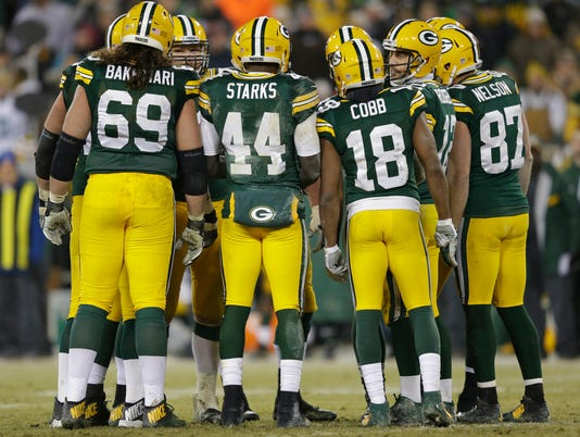 Packers offense