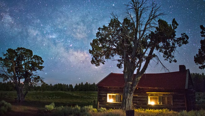 The Milky Way, seen at the historic Waring Ranch in the Parashant National Monument.