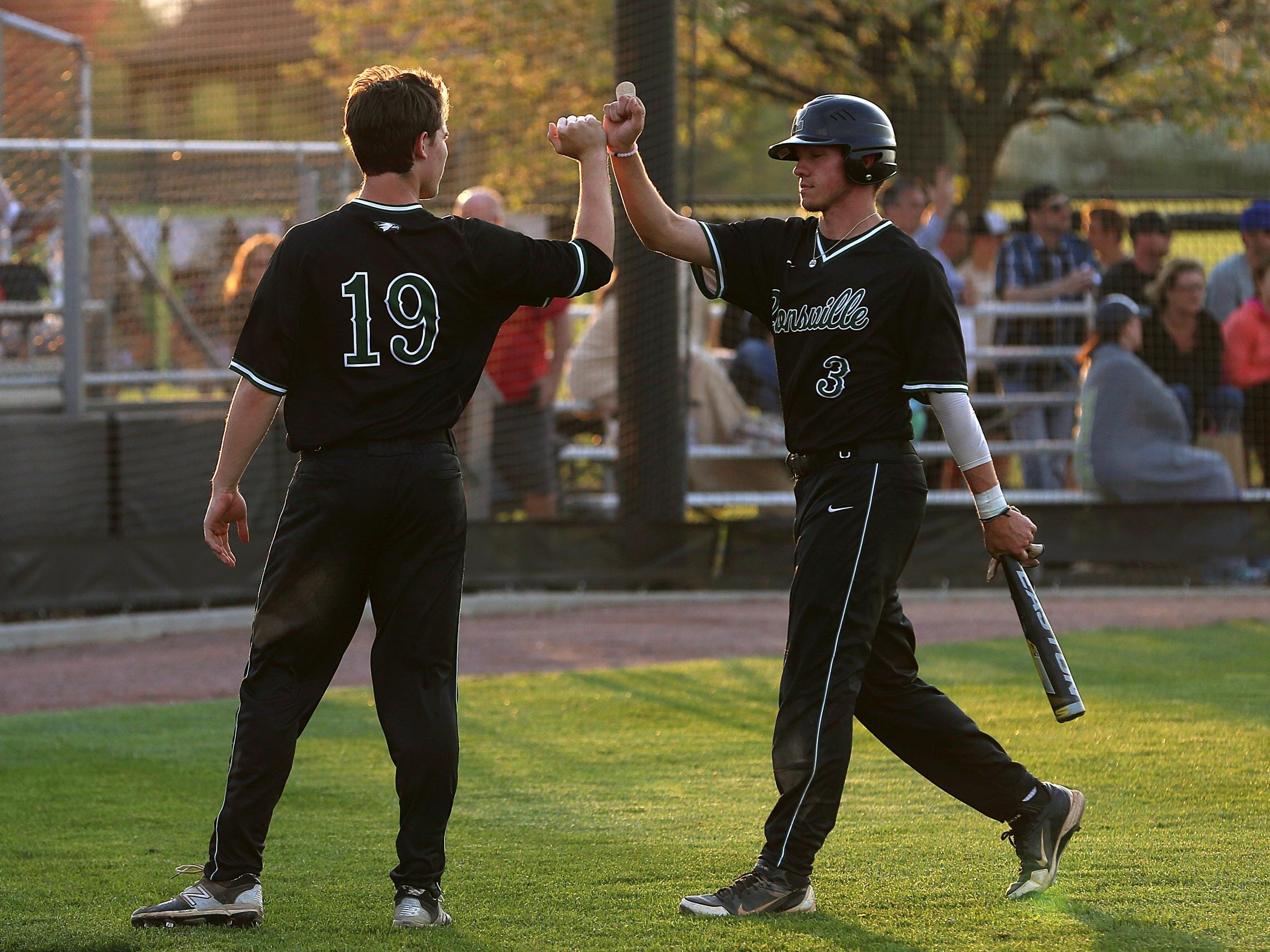 Hs Baseball Zionsville Pounces On Noblesville Usa Today High School Sports