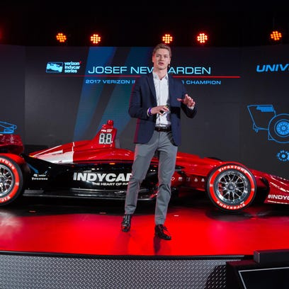 'More lively' IndyCar draws raves from Josef Newgarden