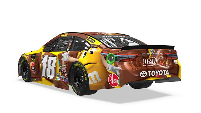 First look: Kyle Busch\'s new Daytona 500 paint scheme
