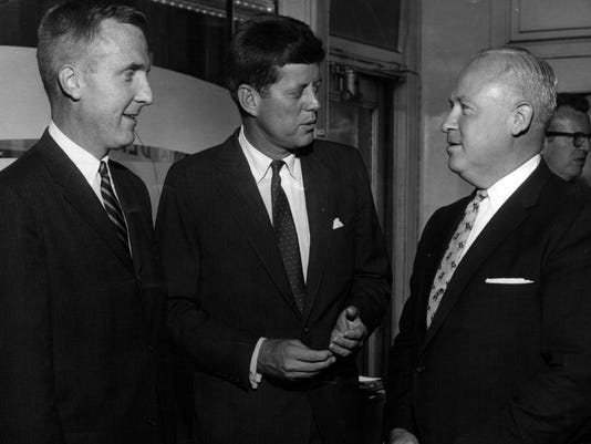 1959 JFK visits local Democrats