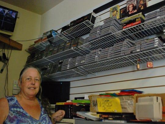 Brenda Jones Barrett worked at Video Exchange in Redding