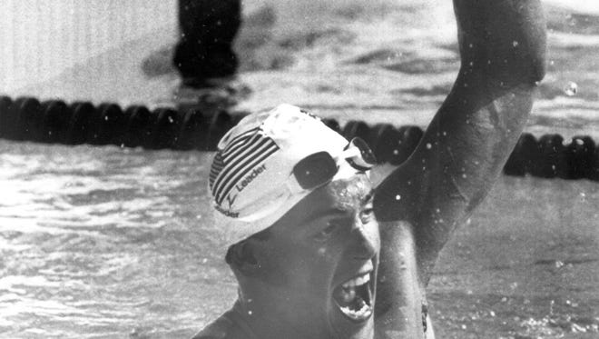 George DiCarlo became the first swimmer from the University of Arizona to win an Olympic gold medal when he captured the 400-meter freestyle at the 1984 Los Angeles Games.