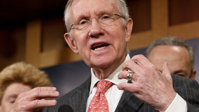 Senate Majority Leader Harry Reid, D-Nev. (J. Scott Applewhite, AP)