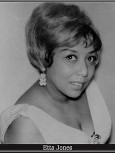 Jazz singer Etta Jones, an Aiken native, earned three Grammy nominations