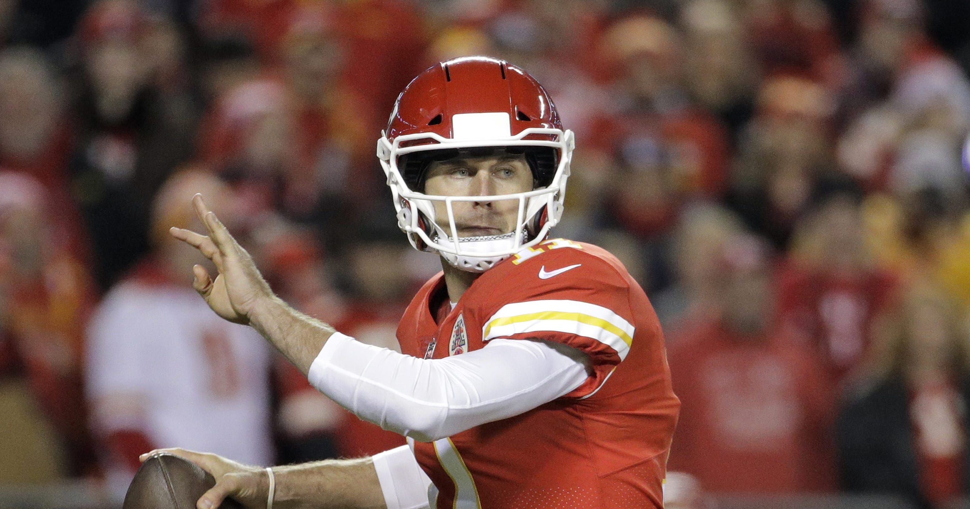 37e1268d9 What Alex Smith trade means for fantasy football