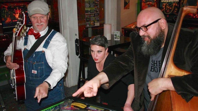 83 Skidoo (Randy Buckner, Kristi Meredith and Donnie Kraft, from left) play '80s and '90s pop reimagined in a '20s-'30s jazz style Friday night at The Dugout. No cover.