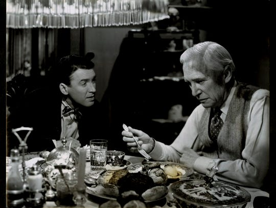 James Stewart and Samuel S. Hinds in Frank Capra's