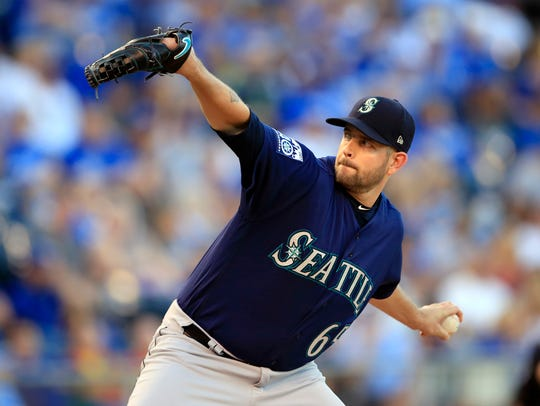 James Paxton leads a Mariners rotation that could be