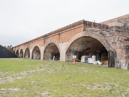Fort Pickens Prevervation