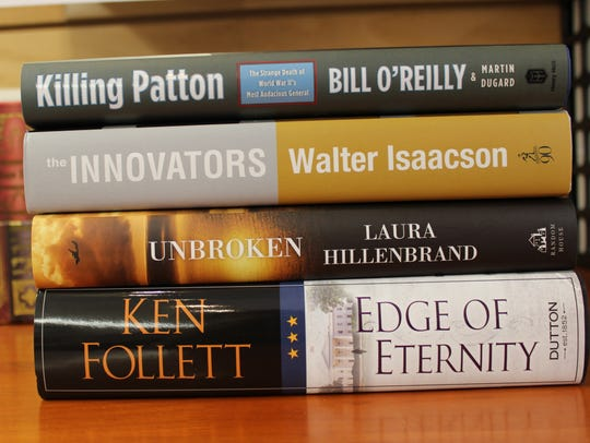 Familiar authors have returned this fall with fascinating