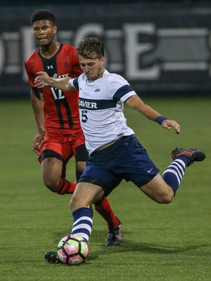 Corey Brown of Xavier University was named Aug. 8 to a watch list for the 2017 Missouri Athletic Club Hermann Trophy award.