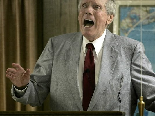 Imagining homophobic pastor Fred Phelps' arrival in 'Heaven.""