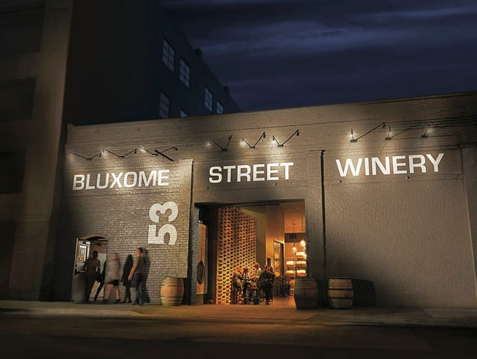 San Francisco's Bluxome Street Winery can be found