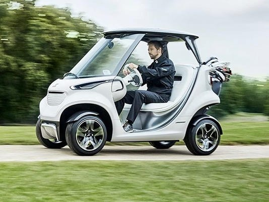 The Mercedes-Benz Style Edition Garia Golf Car (1)