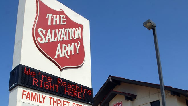The Salvation Army facility on Presto Lane in Jackson offers a wide range of services.