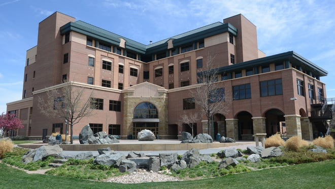 The Larimer County Justice Center.