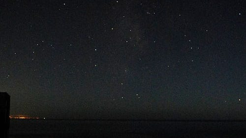 This cropped picture from Bill Abbott was taken from his latitude of +36.8 degrees, showing stars low on the horizon, Aug. 7, 2012. [Photo by Bill Abbott (Own work) [CC BY-SA 2.0 (https://creativecommons.org/licenses/by-sa/2.0)], via Wikimedia Commons]