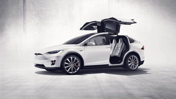 Tesla's Model X went on sale late in 2015, nearly two