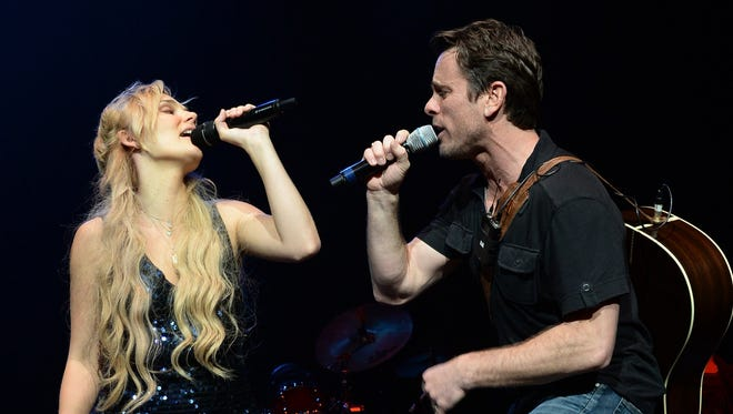 """Nashville"" cast members Clare Bowen and Charles Esten will perform on Aug. 2 at the Indiana State Fair."