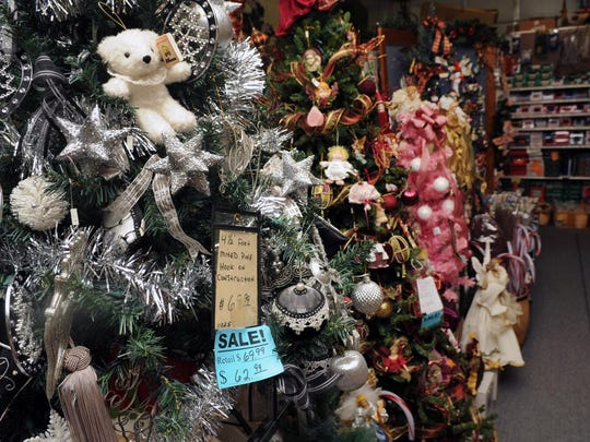 Christmas Warehouse sells trees, wreaths, ornaments and more all year long.