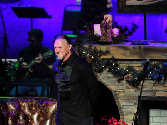 Trace Adkins performs during his Christmas show at TPAC in Nashville, Tenn. December 12, 2014.