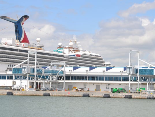 Expanded Port Canaveral Cruise Terminal Prepares To Reopen - Cruise ships port canaveral