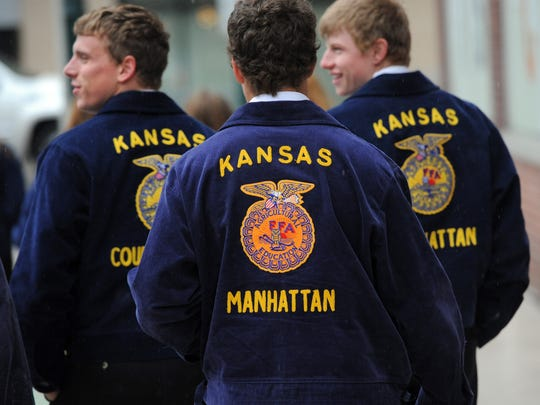 FFA students from around the United States make the