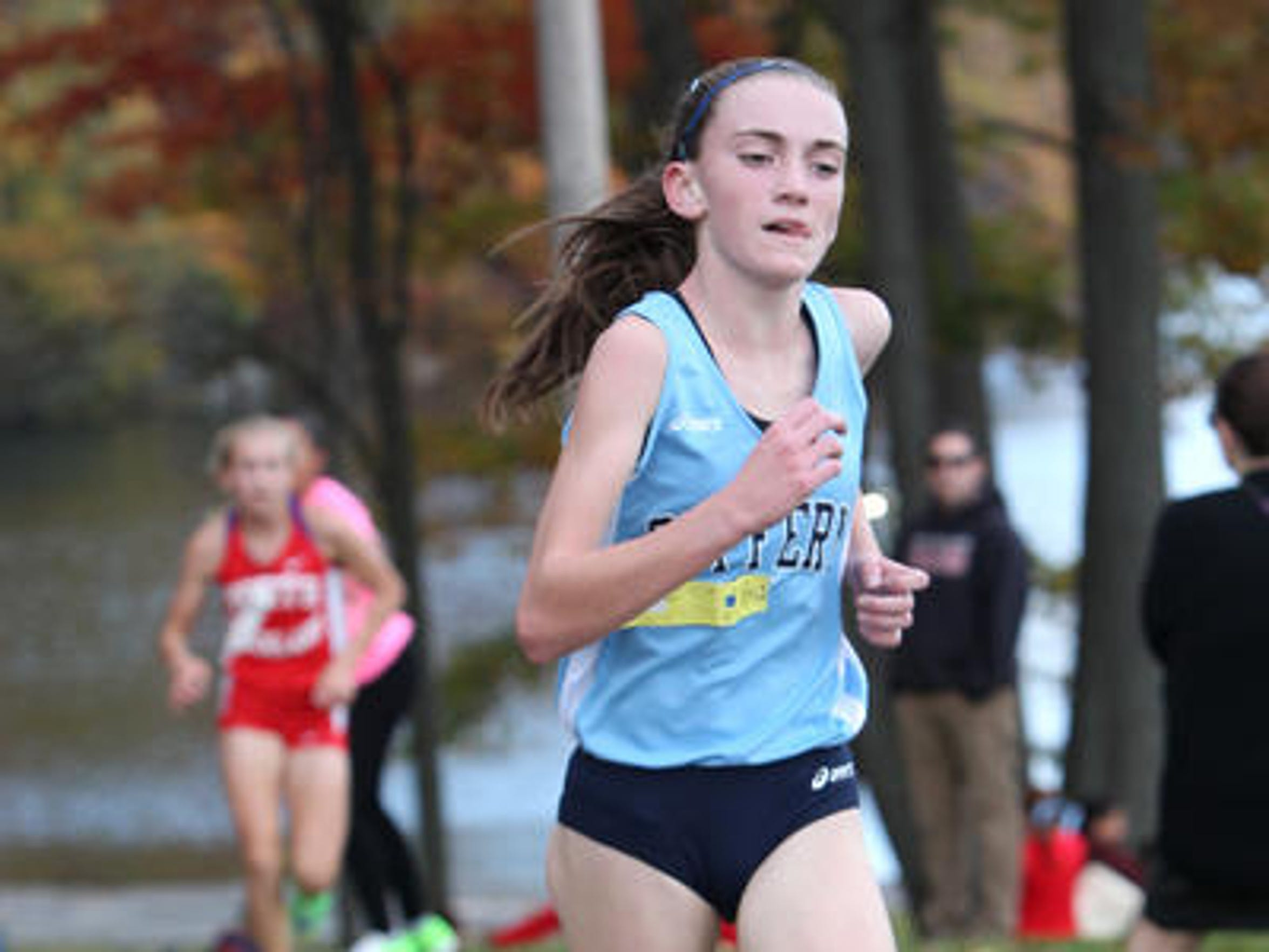 Suffern's Mary Hennelly, shown en route to winning