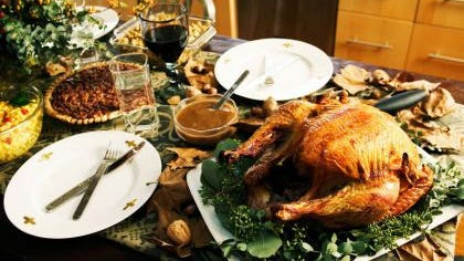 American will consume some 4,000 calories on Thanksgiving Day.
