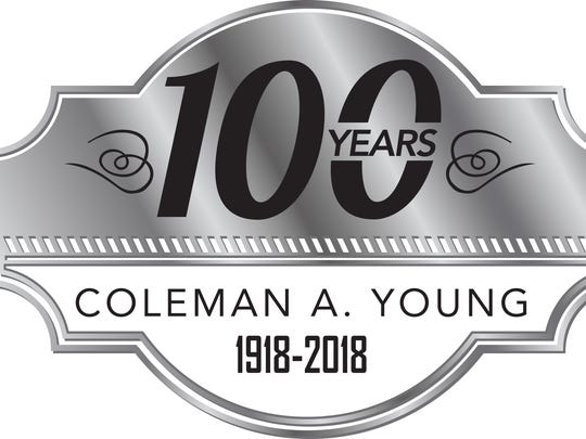 This is the logo that was designed to launch a year-long celebration of his legacy.