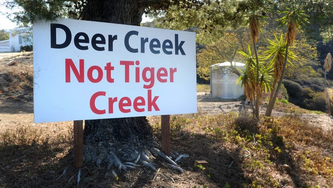 A state appeals court has ruled that tigers can't be kept on land in the Deer Creek Canyon area of Ventura County.