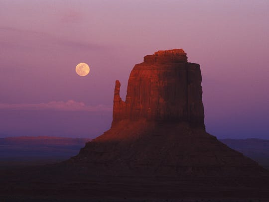 Monument Valley in 1999.