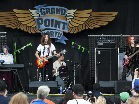 The band The Snaz, shown performing in 2015 at the Grand Point North festival in Burlington, plays its final Chittenden County show Friday at Waking Windows.