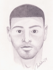 Oxnard police created a sketch of the suspect in the stabbing death of Labh Nigah, who was killed Nov. 13, 2014 at Oxnard's Sierra Linda Park.