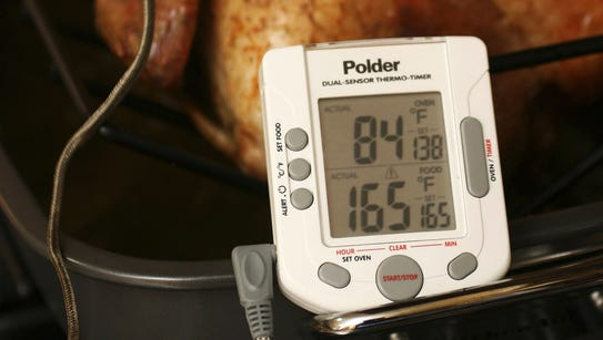 Your turkey is safe to eat when the innermost part