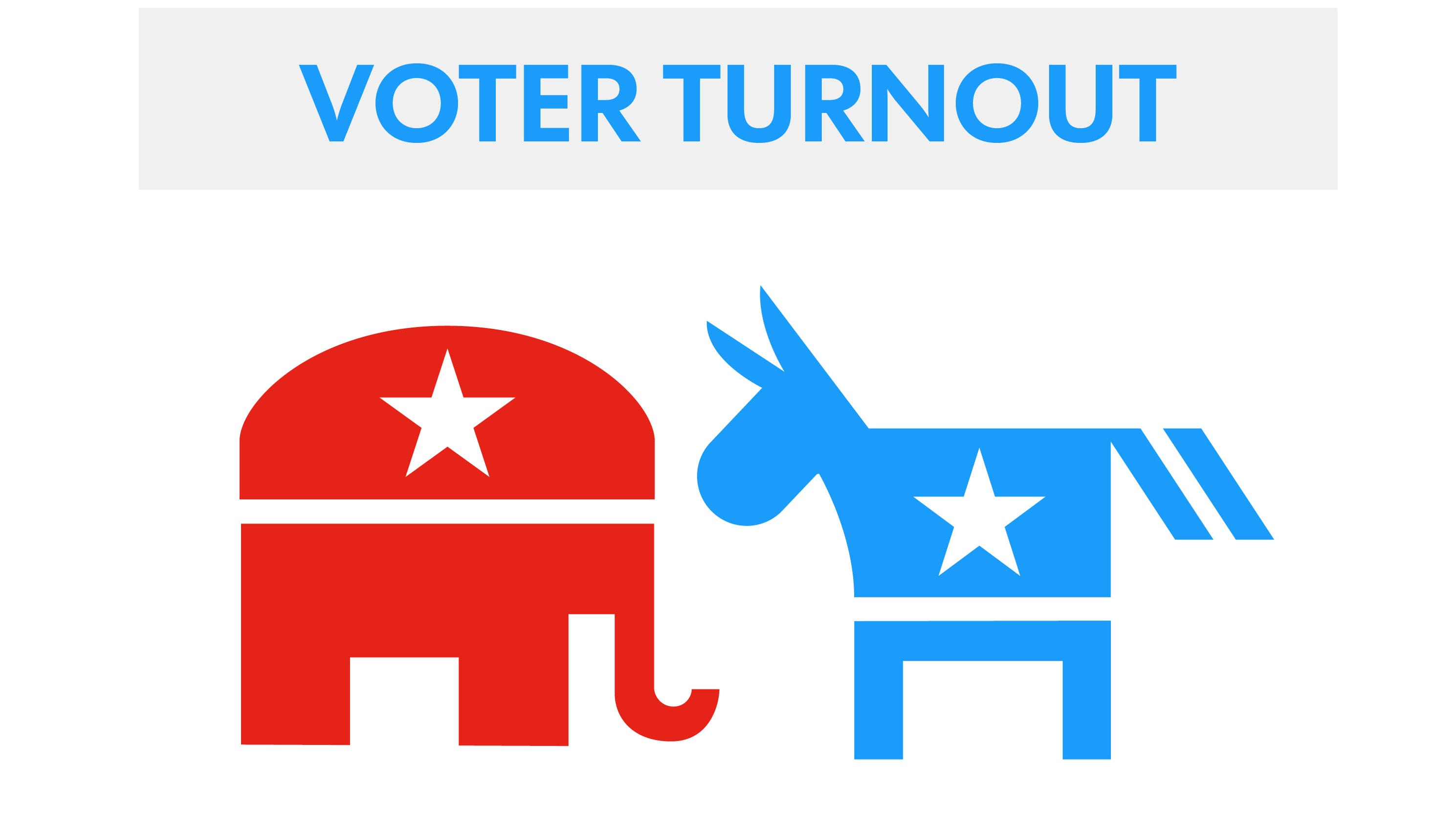 Midterm elections' turnout