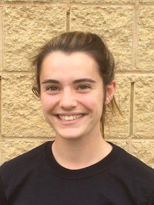 Eastern senior second baseman Rachel Wood