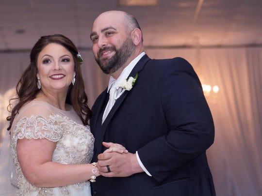 Jamie and Jude Blanchard were married June 30 in Raceland